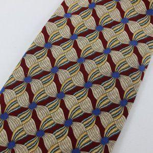 Valentino Tie Multicolor Floral, 100% Silk, Italy